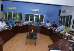 Meeting with AECS, KV and NVS officials